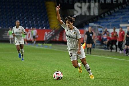 20180912 UEFA Women's Champions League 2019 SKN - PSG Shuang Wang 850 5101.jpg