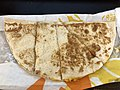 2019-01-22 21 01 02 A cheese quesadilla from Taco Bell in the Franklin Farm section of Oak Hill, Fairfax County, Virginia.jpg