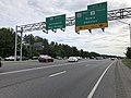 2019-05-21 17 29 55 View south along Interstate 97 (Robert Crain Highway) at Exit 7 (Maryland State Route 32 WEST, Maryland State Route 3 SOUTH, Bowie, Odendon) in Gambrills, Anne Arundel County, Maryland.jpg
