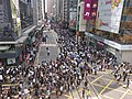 2019-10-04 Central Protest on Des Voeux Road Central near Chiyu Bank (2).jpg