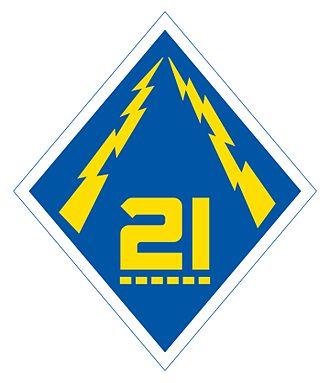 21st Division (Philippines) - 21st Philippine Division Emblem 1941-42, more common version