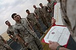 22nd MEU Marine re-enlists at sea 140313-M-WB921-002.jpg