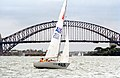 231000 - Sailing sonar Jamie Dunross Noel Robins Graeme Martin action 10 - 3b - 2000 Sydney race photo.jpg