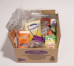 30 BRITISH ARMY MOD MRE PATROL CONSUMABLE KIT WITH HEATING STOVE