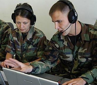 280th Combat Communications Squadron - Image: 280th CBCS Pic 3