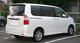 2nd generation Toyota Noah S rear.jpg