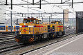 2x Strukton MaK G 1206 (Demi 303007en Willy 303002), Eindhoven 2 dec 2014. (15744823140).jpg