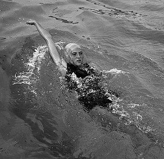 Françoise Borie French swimmer