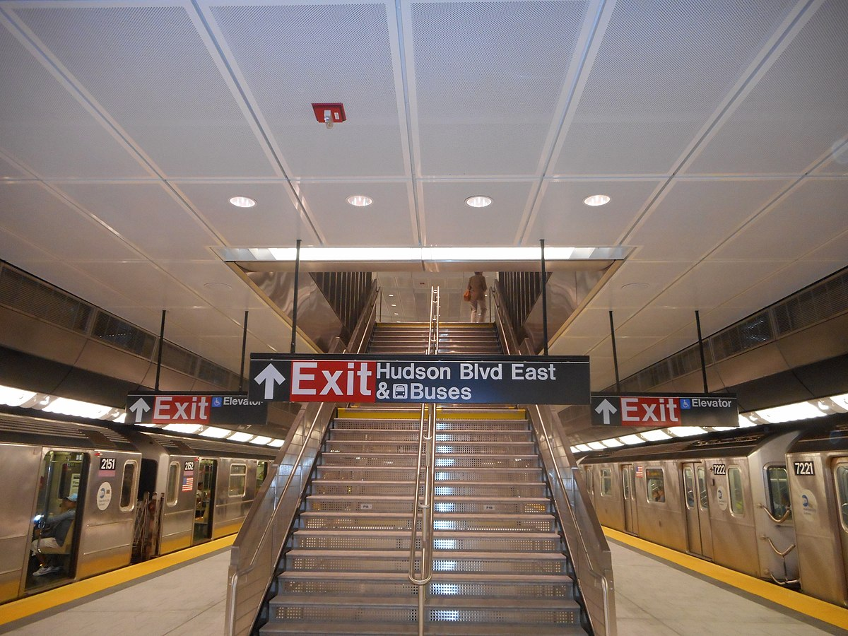 34th Street Hudson Yards Irt Flushing Line Wikipedia