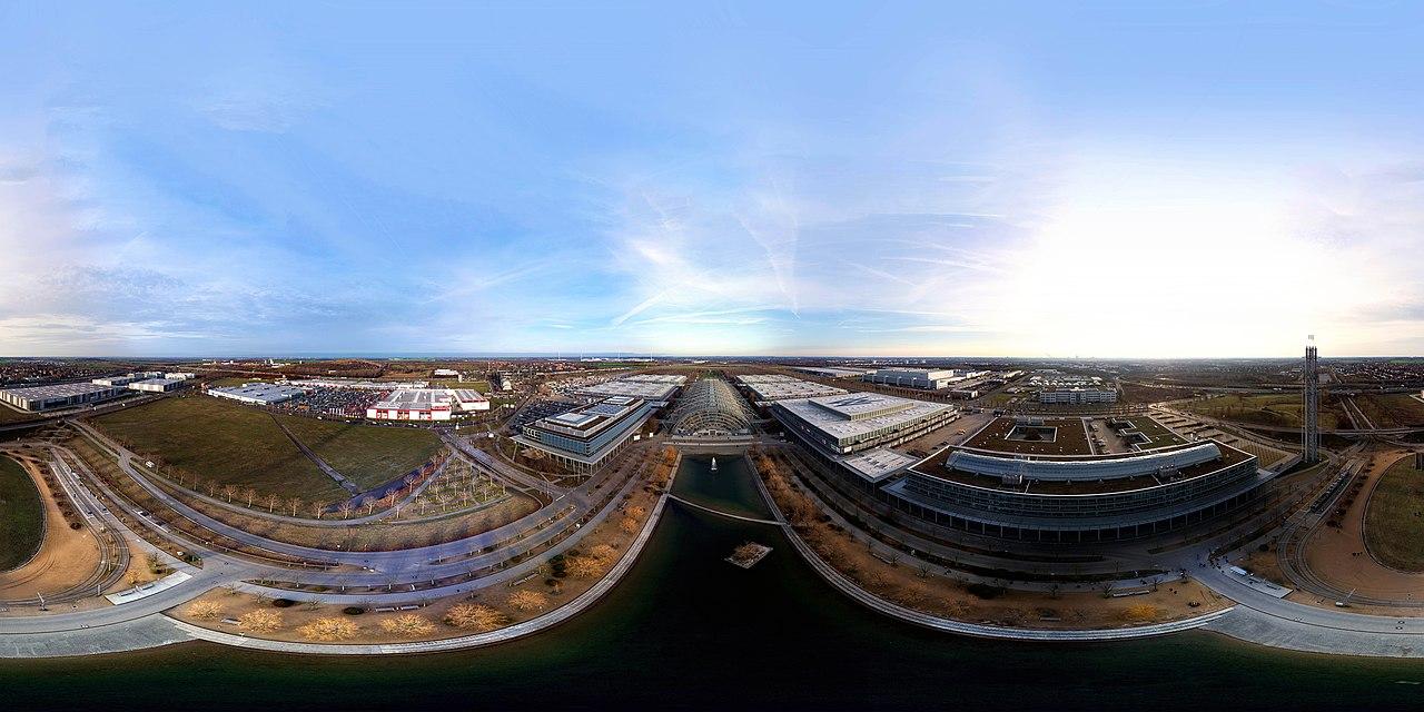 a 360° panorama photo at 35C3