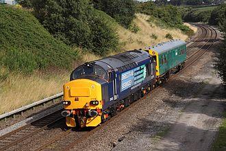 Northern Rail (Serco-Abellio) - Image: 37423 & Caroline Danesmoor