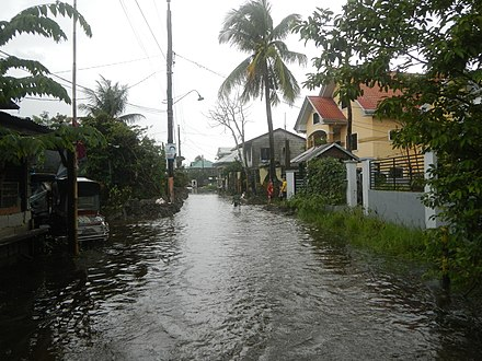 Monsoon floods in Philippines 3933Typhoons Krosa Lekima monsoon tidal flooding in Calumpit, Bulacan 13.jpg