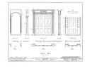 4-10 Grove Street (Row Houses), New York, New York County, NY HABS NY,31-NEYO,39- (sheet 5 of 7).png