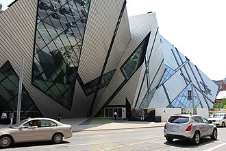Royal Ontario Museum - The museum entrance was moved to The Crystal when it opened in 2007.