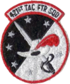 421st Tactical Fighter Squadron 1970s Patch.png
