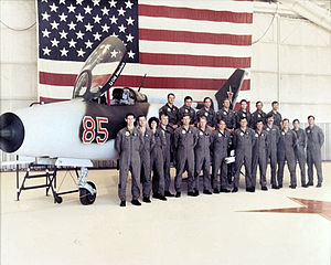 4477th Test and Evaluation Squadron - Image: 4477th Test and Evaluation Squadron Mi G 21 Red 85