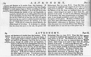 "Long s - 5th edition of Encyclopædia Britannica, 1817, top, compared to the 6th edition of 1823; the only change (aside from the elimination of the ct ligature, as in ""attraction"") was the removal of the long s from the font"