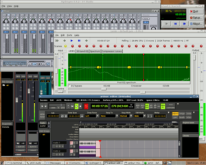 A screenshot 64 Studio distribution.