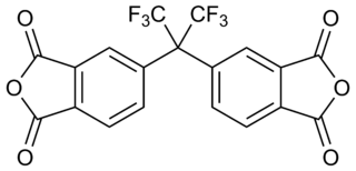 4,4′-(Hexafluoroisopropylidene)diphthalic anhydride chemical compound