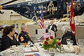 6th annual reception and dinner honoring wounded veterans of Iraq and Afghanistan and their families 130921-D-HU462-226.jpg