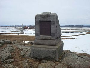 72nd Pennsylvania Infantry Monument - Image: 72nd PA Infantry MN227