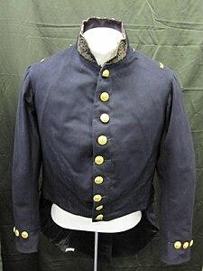 83-142-A Uniform Officer, Full Dress Coat, Chief Engineer, 1852-1861..jpg