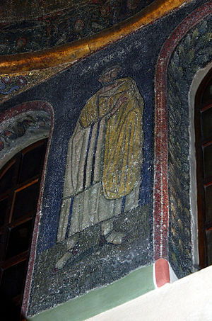 Maternus (bishop of Milan) - 5th-century Mosaic of Maternus