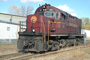 ALCO Century 420 - Arkansas and Missouri Railroad 68, an ALCO C420