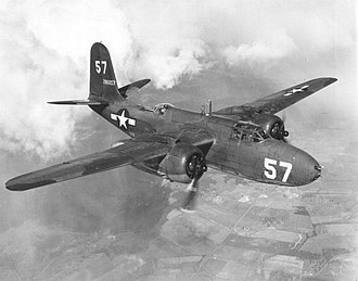 97th Air Refueling Squadron - Douglas A-20 as flown by the squadron in the MTO