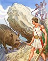 A.Ryabinin Theseus & Crommyonian Sow.jpg