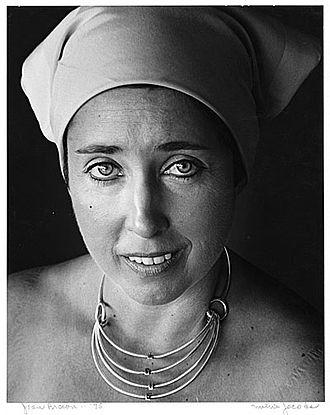 Joan Brown - Brown in 1975