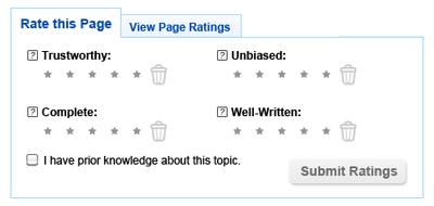 Article feedback/Public Policy Pilot/Design Phase 2 - MediaWiki