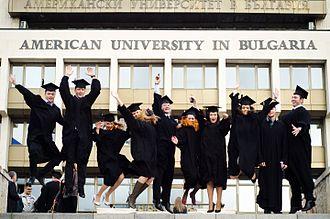 American University in Bulgaria - Graduating students