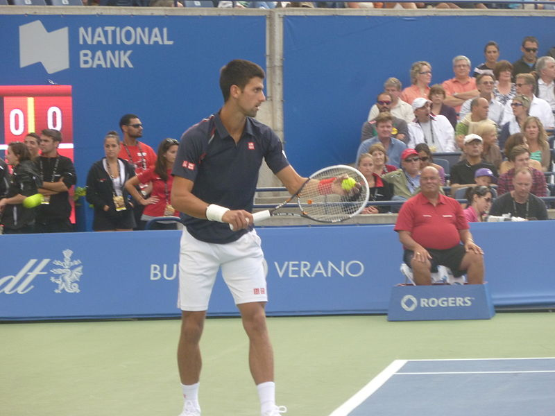 Датотека:A 2012 Rogers Cup final Djokovic vs Gasquet4.JPG
