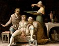A birth-scene. Oil painting by a French (?) painter, Åbo, Sw Wellcome V0017247.jpg