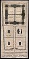 A floor plan of Edinburgh Lunatic Asylum with scale and key, Wellcome V0012577.jpg