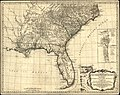 A general map of the southern British colonies in America, comprehending North and South Carolina, Georgia, East and West Florida, with the neighboring Indian countries, from the modern surveys of LOC gm71005467.jpg