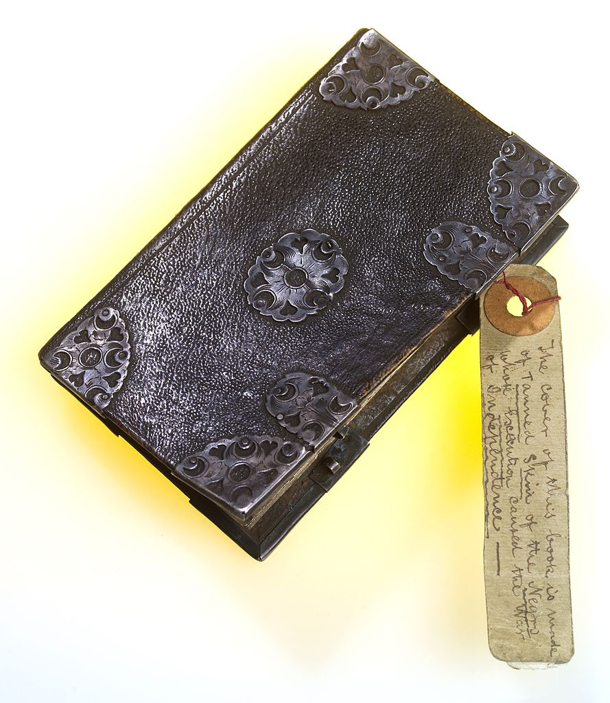 Book Covered In Human Skin ~ File a notebook allegedly covered in human skin wellcome