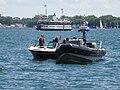 A police boat patrols Toronto's busy harbour, 2016 07 03 (4).JPG - panoramio.jpg