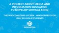 A project about media and information education to develop critical mind - The Wikiconcours lycéen.pdf