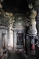 A small shrine inside the open mantapa in Kaitabhesvara temple at Kubatur.JPG