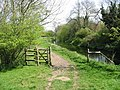 A somewhat pointless 'kissing gate' on the Stour Valley Walk - geograph.org.uk - 783043.jpg