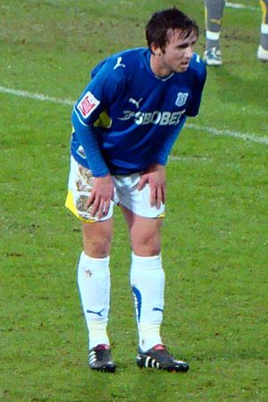 Aaron Wildig - Wildig playing for Cardiff City in 2010