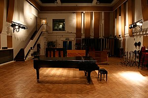 A Day in the Life - A grand piano in EMI's Studio Two, where the closing piano chord was recorded on 22 February 1967