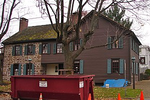National Register of Historic Places listings in Adams County, Pennsylvania - Image: Abbott House 1737