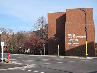Midtown Phillips, Minneapolis - Image: Abbott northwestern hospital