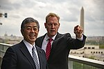 Acting Secretary Shanahan Shows Defense Minister Iwaya Washington Views (32701834117).jpg