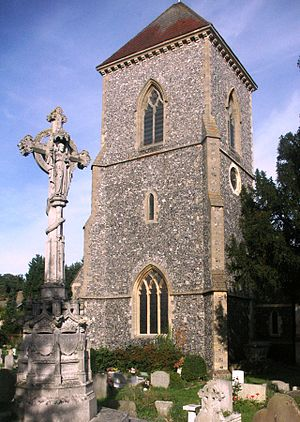 Addington, London - Image: Addington Church