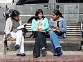 Adolescent Girls on Street - Sucre - Bolivia (3777104470).jpg