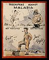 Advice to British soldiers about malaria. Wellcome V0010524.jpg